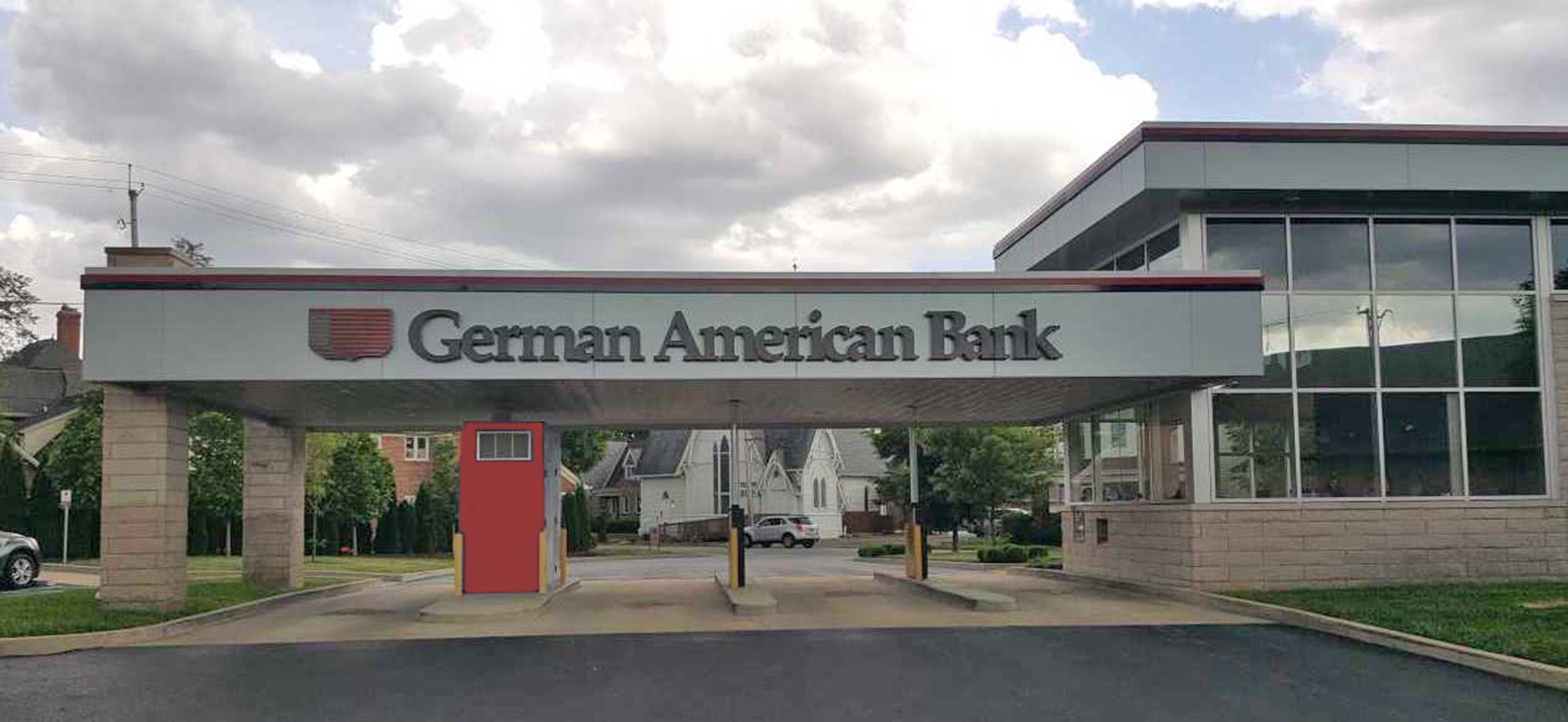 German American Bank Columbus Washington Drive Up Location